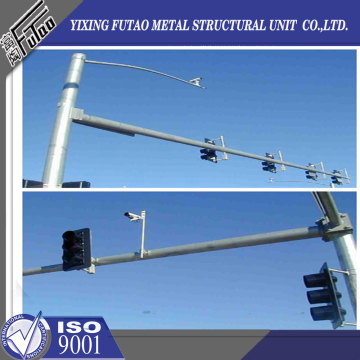 8 Meters Steel traffic signal pole