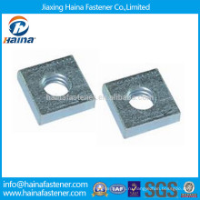 DIN562 оцинкованная углеродистая сталь квадратная тонкая гайка