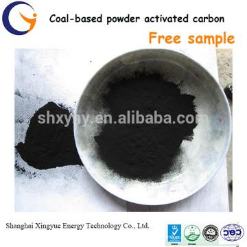 carbón activado carbón de 150-320 basado en polvo precio de carbón activado