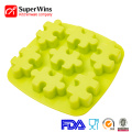 7-Cavity Silicone Baking Waffle Cookie Mold