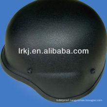 Aramid ballistic helmet