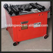 Máquina dobladora de barras de acero de un año de garantía