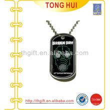 Fabricante de jóias Green Dry tag tag de cão