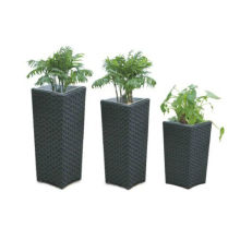 Bon prix New Design Rattan Wicker Flower Pot
