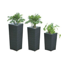 Good Price New Design Rattan Wicker Flower Pot