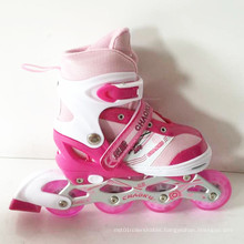 PU Wheels Children Pink Inline Skate