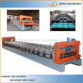 High speed ridge cap tile making roll former machine building construction/automatic metal roof ridge cap making machine