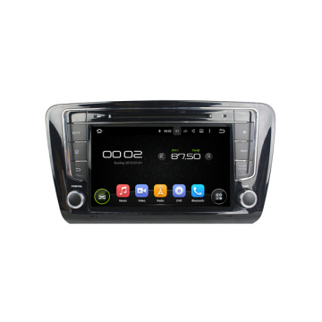 Android Car Multimedia Player สำหรับ Skoda OCTAVIA 2014-2016