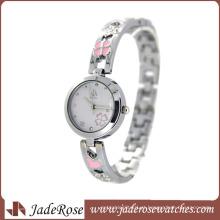 Senhoras moda assistir lindo relógio de presente (rb3120)