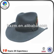 2014 fashion ladies wide brim wool felt hat