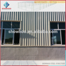 High rise steel structure building used industrial shed