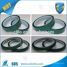 High Temperature PET Silicone Tape for PCB Solder Mask