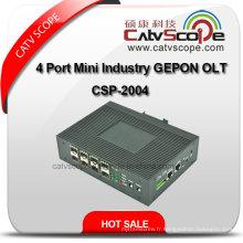 Haute qualité 4 ports Mini Industrie Gepon Olt Csp-2004