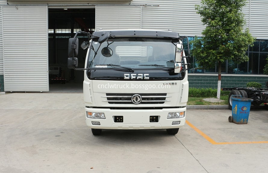 dongfeng water bowser chassis 2