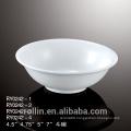Hot-selling cheap ceramic white bowl