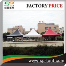 Tente en charnière en acier galvanisé 6x6m / blanc ou rouge ou noir 6mx6m marquee tente prix de gros