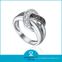 OEM Accepted Bead 925 Sterling Silver Ring Design (R-0582)