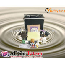 2013 venta directa de la fábrica kits portables y prácticos del principiante o del arrancador del tatuaje