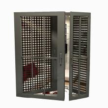 Chine Usine Feelingtop En Gros En Aluminium Intérieur et Extérieur Portes à Guillotine (FT-D80)