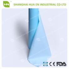 China fornece exames médicos de alto grau de papel descartável de papel PE descartáveis com alta qualidade