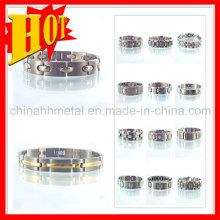 Venda quente germânio magnético pulseira de titânio