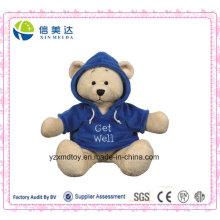 Get Well Hoodie Teddybär Plüschtier (XDT-031S)