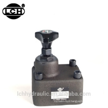 manual variable mechanical hydraulic flow control valve