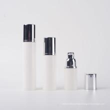15ml 30ml 50ml Eco amigável plástico PP branco Airless bomba de garrafa