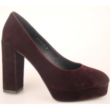 стильные женские 2 дюйма высокий каблук туфли черный и белый