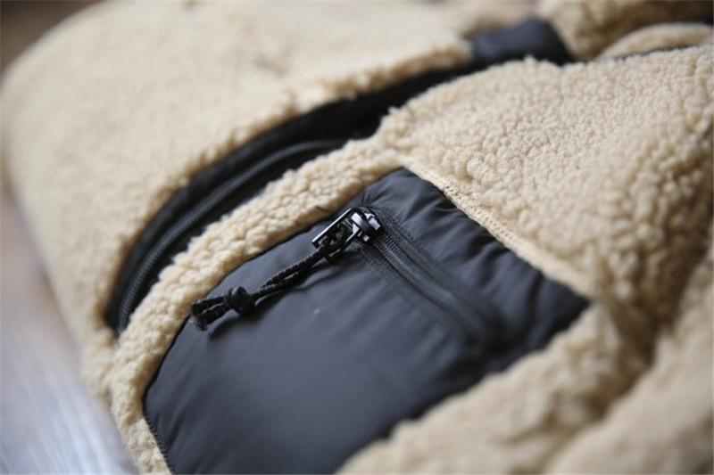 Mens Sherpa Pullover Jacket 14