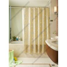 Cortina de ducha de lujo transparente