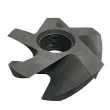 Anti-oxidation Coating Graphite Rotor and shaft for aluminum melting degassing
