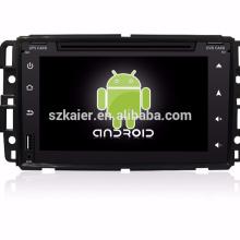 "7 ""reproductor de DVD del coche, fábrica directamente! Quad core, GPS, radio, bluetooth para GMC"