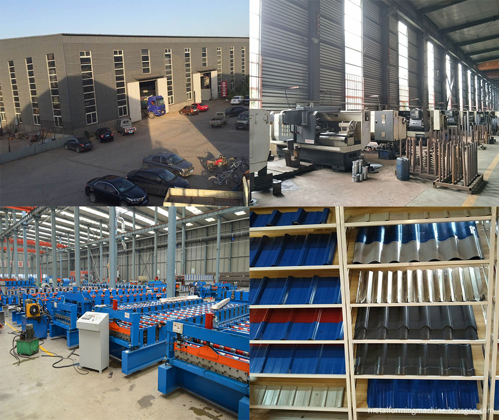 Factory Of Roll Forming Machine
