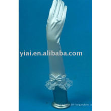 2013 Lace Bow Elbow Bridal Glove With Fingers 010