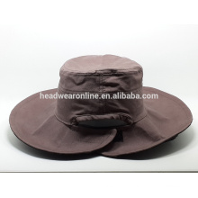 2015 benutzerdefinierte Eimer Hüte und Mütze mit Leinwand Stoff