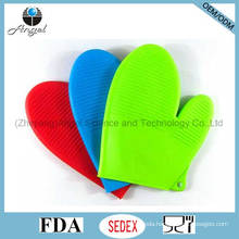 Short Silicone Cooking Baking Glove Rubber Glove Oven Mitten Sg13