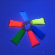 Vara UV não tóxica Waterbased da pintura da cara do arco-íris