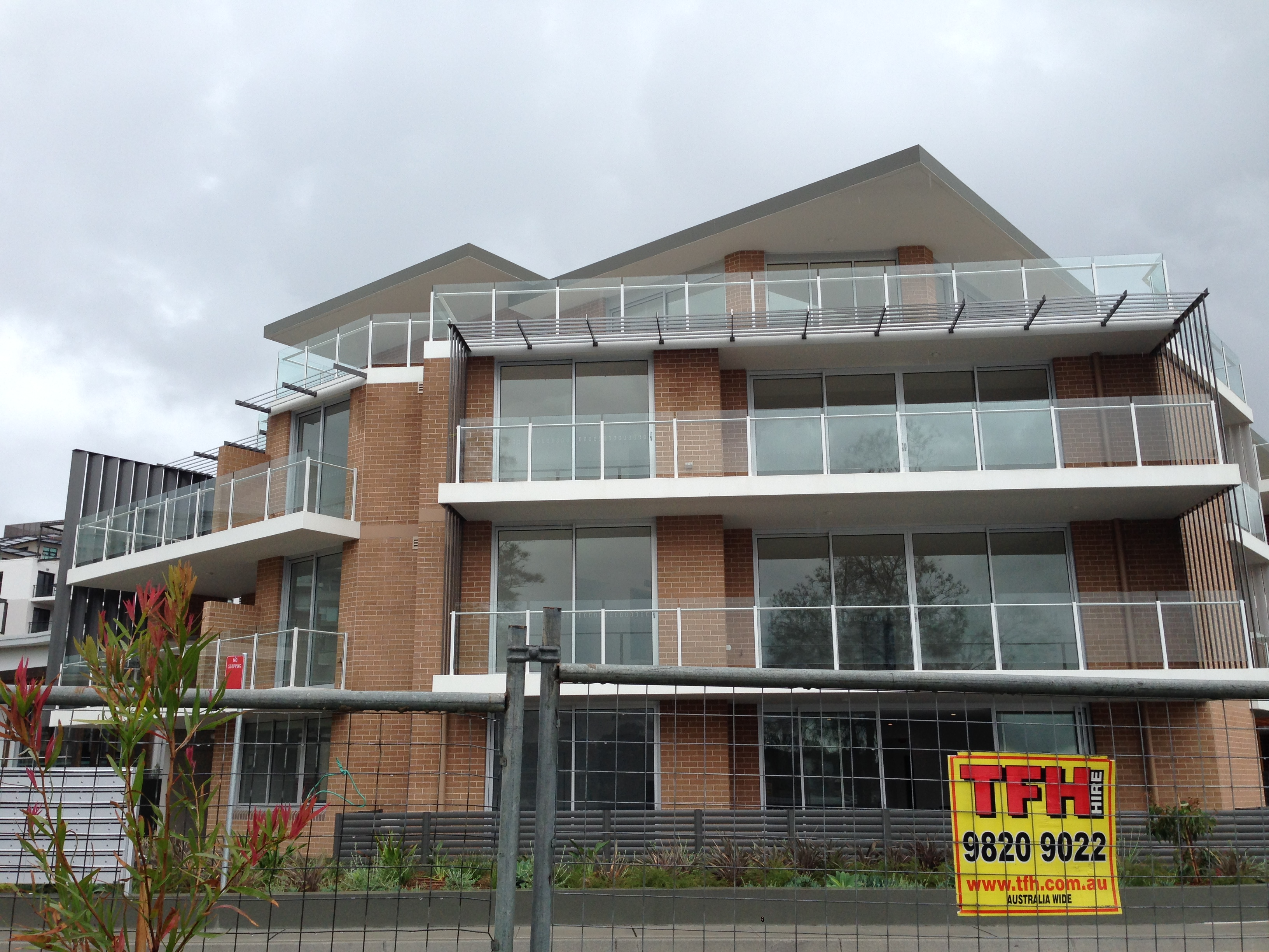 Sydney Aged Care-Balcony Glass