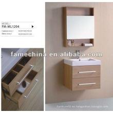 MDF pintura libre gabinete de baño de melamina