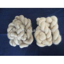 Sharrefun depilado y peinado Pura cachemir blanco / gris claro / marrón