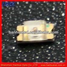0603 SMD LED éclairage de couleur blanche / meilleure qualité blanc 0603 SMD led module