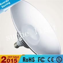 LED High Bay Luz Industrial IP65 UL DLC listada 50W 100W LED iluminação de baía alta 5 anos de garantia