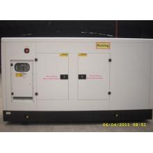 Guangzhou 50kVA de refrigeración de agua de tres fases Lovol (motor de Perkins) Generador de diesel a prueba de sonido