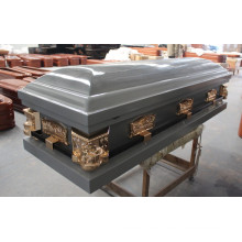 Blue Wooden Casket /Coffins (WM03)