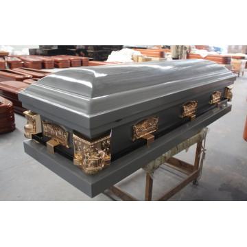 Blauen hölzernen Schatulle /Coffins (WM03)