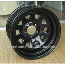 passenger vehicles wheels for car ,13x5 hot trailer rim