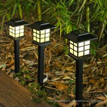 Lâmpada solar pequena lâmpada de jardim lâmpada plug-in