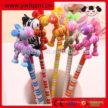 Crayon Animal En Bois Pour Enfants