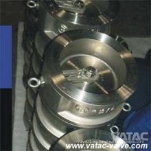 Válvula de retención de obleas de acero fundido